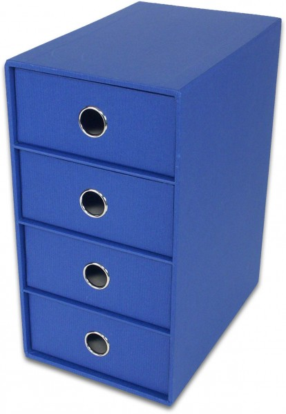 S.O.H.O. Blau - 4er Schubladenbox